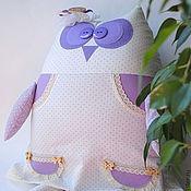 Для дома и интерьера ручной работы. Ярмарка Мастеров - ручная работа Сова игрушка в платье. Handmade.