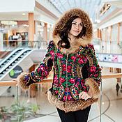 Одежда ручной работы. Ярмарка Мастеров - ручная работа Куртка с капюшоном, арт. 1209. Handmade.