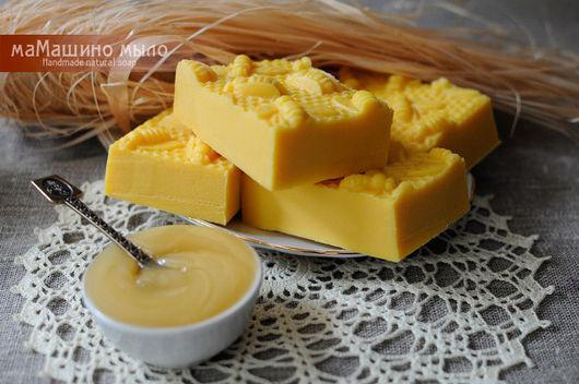 Мыло ручной работы. Ярмарка Мастеров - ручная работа. Купить Натуральное мыло Правильные пчелы. Handmade. Желтый, мыло для умывания
