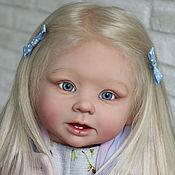 Куклы и игрушки ручной работы. Ярмарка Мастеров - ручная работа Девочка с пионом.. Handmade.