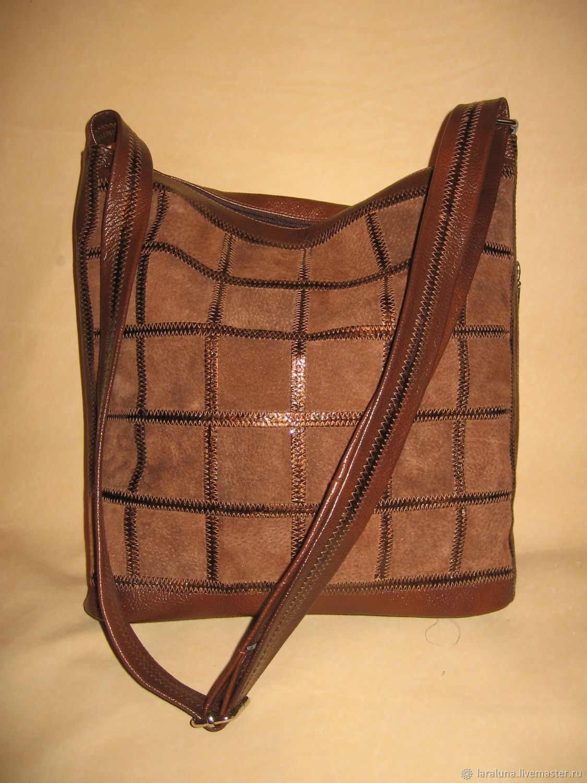 9d79d247dbf7 Женские сумки ручной работы. Ярмарка Мастеров - ручная работа. Купить  Кожаная сумка
