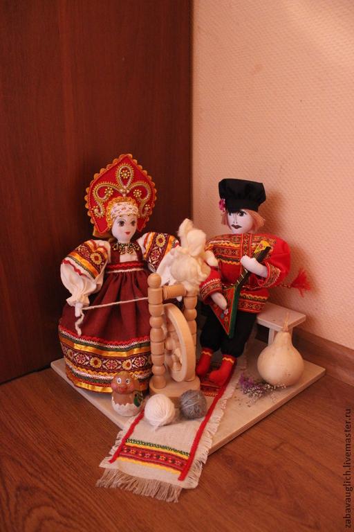 Народные куклы ручной работы. Ярмарка Мастеров - ручная работа. Купить Куклы в народном стиле. Handmade. Кукла, ручная работа
