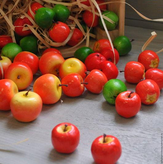 Яблоко декоративное, 5 цветов