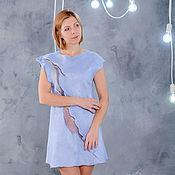 Одежда handmade. Livemaster - original item dress felted dawn. Handmade.