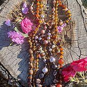 Винтаж handmade. Livemaster - original item Necklace-beads. Japan. The 1960-ies.. Handmade.