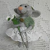 Куклы и игрушки ручной работы. Ярмарка Мастеров - ручная работа Мышка норушка (продана). Handmade.