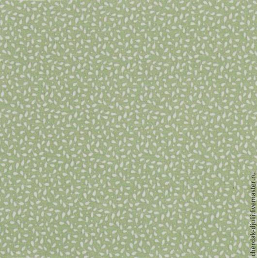 Куклы и игрушки ручной работы. Ярмарка Мастеров - ручная работа. Купить Ткань Tilda Leaves and Berries olive (Spring Lake 2015), 100% хлопок. Handmade.