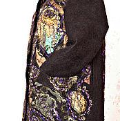 """Одежда ручной работы. Ярмарка Мастеров - ручная работа Валяное женское пальто """"Хозяйка Медной горы"""". Handmade."""