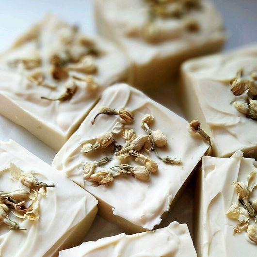 Мыло ручной работы. Ярмарка Мастеров - ручная работа. Купить Натуральное мыло с нуля с эфирными маслами апельсина и лаванды. Handmade.