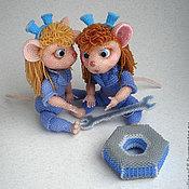 Куклы и игрушки ручной работы. Ярмарка Мастеров - ручная работа Гаечки. Handmade.