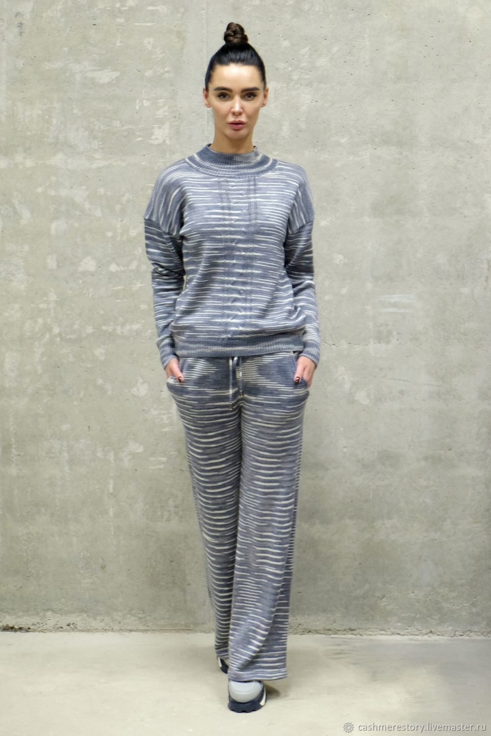 Knitted suit for women Striptile, Suits, Moscow,  Фото №1