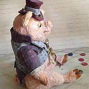 Куклы и игрушки ручной работы. Ярмарка Мастеров - ручная работа Поросенок Оливер. Handmade.
