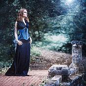 """Одежда ручной работы. Ярмарка Мастеров - ручная работа Корсет под грудь """"хранительница озера"""". Handmade."""