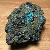 Материалы для творчества handmade. Livemaster - original item Azurite crystal in hematite. Handmade.