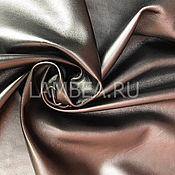 Материалы для творчества handmade. Livemaster - original item Genuine leather. Sheepskin. Silver. The thickness of 1mm. Handmade.