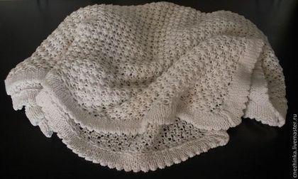 """Пледы и одеяла ручной работы. Ярмарка Мастеров - ручная работа Плед """"Нежный"""". Handmade."""
