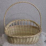 Материалы для творчества handmade. Livemaster - original item the basket out of vines for the decoration