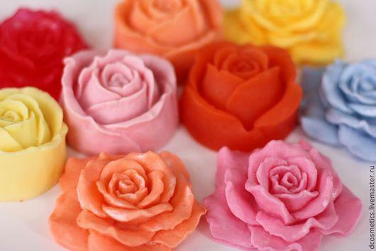 """Мыло ручной работы. Ярмарка Мастеров - ручная работа. Купить Мыло """"Розы"""". Handmade. Мыло в подарок, 8 марта, цветы"""