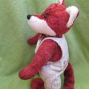 Куклы и игрушки ручной работы. Ярмарка Мастеров - ручная работа Красный лис. Handmade.
