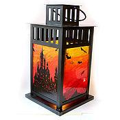 """Для дома и интерьера ручной работы. Ярмарка Мастеров - ручная работа Фонарик """"Gothic Castle"""" (0416). Handmade."""