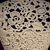 """Одежда ручной работы. Ярмарка Мастеров - ручная работа Платье """"Первый снег"""". Handmade."""