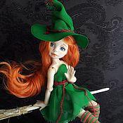 Оленька шарнирная кукла