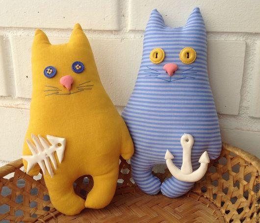 Игрушки животные, ручной работы. Ярмарка Мастеров - ручная работа. Купить Солнечно-морские котики. Handmade. Котики, солнечный, желтый
