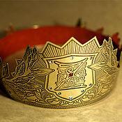 Подарки к праздникам ручной работы. Ярмарка Мастеров - ручная работа Настоящая корона для Зевсов. Handmade.