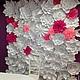 Свадебные цветы ручной работы. Цветочный задник молодоженов 3х2 метра. Семенова Татьяна. Интернет-магазин Ярмарка Мастеров.