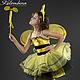 Карнавальный костюм для девочки Пчёлка