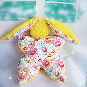 """Куклы и игрушки ручной работы. Ярмарка Мастеров - ручная работа Игрушка -сплюшка для сна """"Солнечный зайчик"""" ( зайка, игрушка, сон). Handmade."""