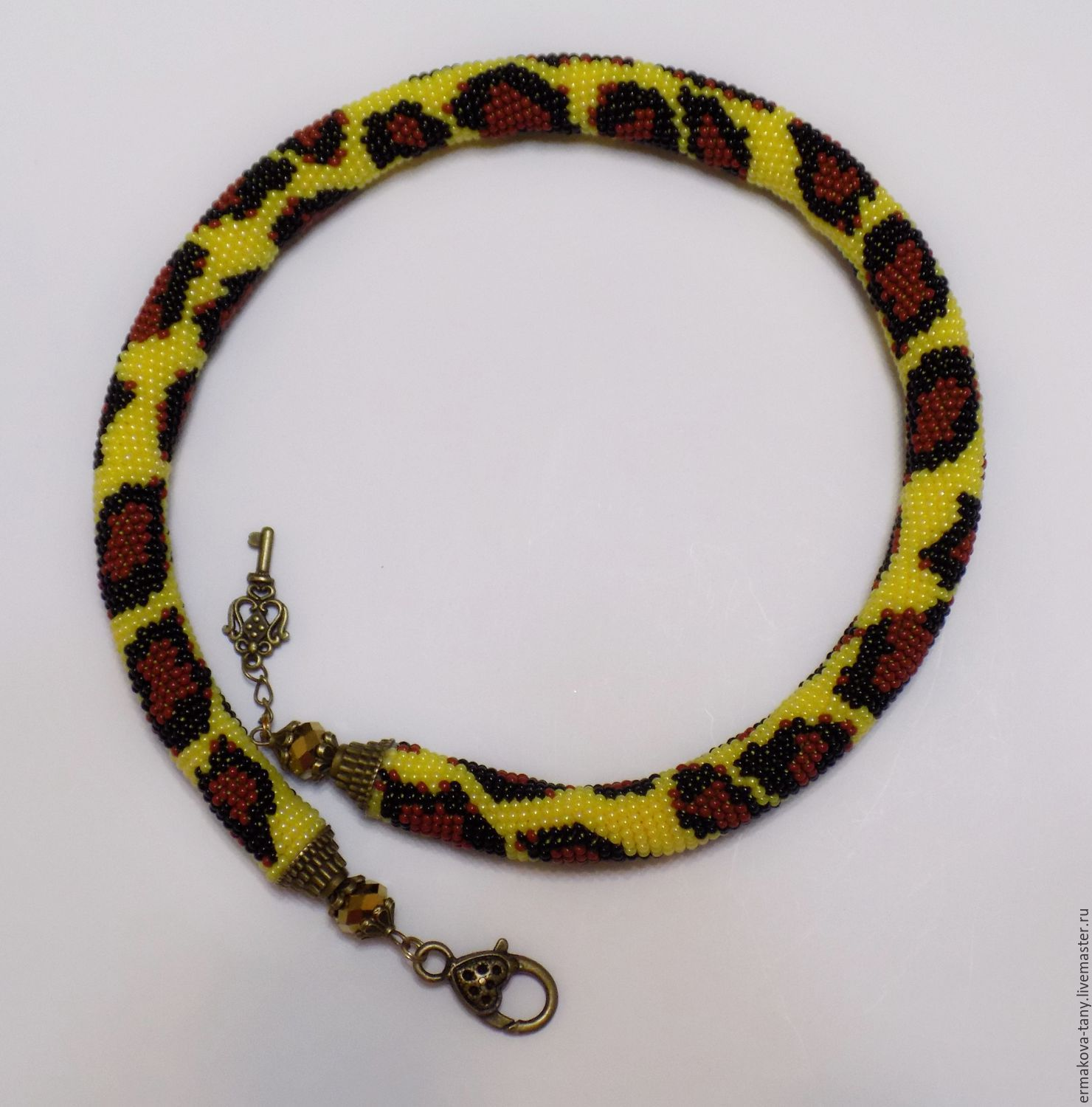 necklace harness Gold leopard, Necklace, Tolyatti, Фото №1