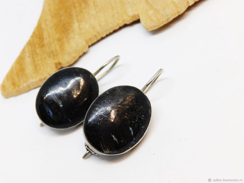 Earrings numitem 'Black water', Earrings, Gatchina,  Фото №1
