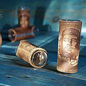 Посуда handmade. Livemaster - original item Shot glasses for tequila