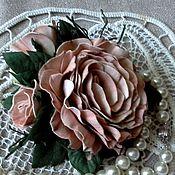 Свадебный салон handmade. Livemaster - original item Brooch-hair clip