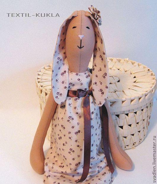 Игрушки животные, ручной работы. Ярмарка Мастеров - ручная работа. Купить Зайка (60см) - текстильная игрушка. Handmade. Зайка