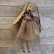Куклы и игрушки ручной работы. Ярмарка Мастеров - ручная работа Заяц. Зая Тедди.. Handmade.