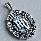 """Фен-шуй и эзотерика handmade. Livemaster - original item Zodiac sign """"Maiden"""". Handmade."""