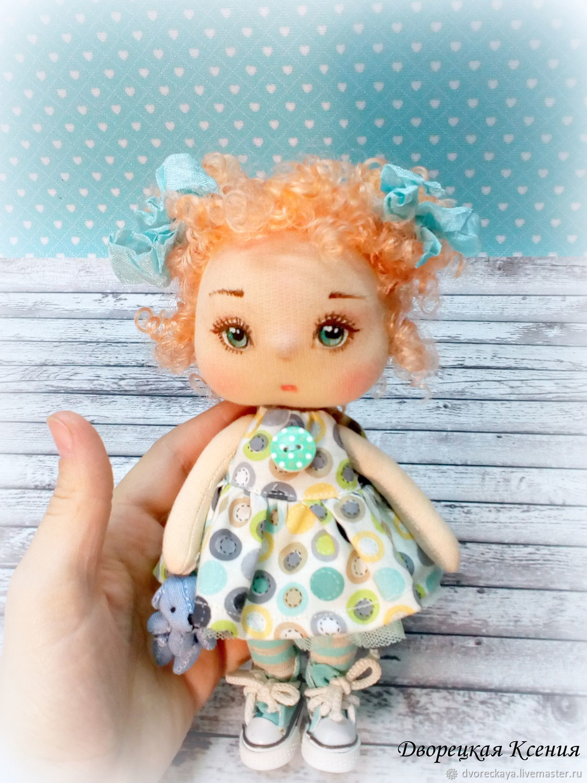 Текстильная кукла Злата, Куклы и пупсы, Брянск,  Фото №1