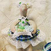 Куклы и игрушки ручной работы. Ярмарка Мастеров - ручная работа Куколка Пряжа Пряжевна. Handmade.