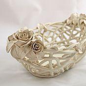 Посуда handmade. Livemaster - original item Delicate handmade Martinis and Roses. Handmade.