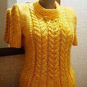 """Одежда ручной работы. Ярмарка Мастеров - ручная работа Джемпер """"Золотые косы"""". Handmade."""