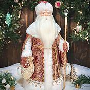 Народная кукла ручной работы. Ярмарка Мастеров - ручная работа Дед Мороз под ёлку. Handmade.