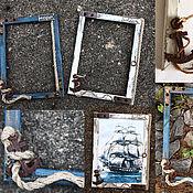 Сувениры и подарки manualidades. Livemaster - hecho a mano Photo frame  Of the boatswain.Sea style. Loft.. Handmade.
