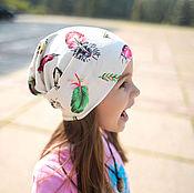 """Работы для детей, ручной работы. Ярмарка Мастеров - ручная работа Шапочка для девочки """"Чудо в перьях"""". Handmade."""