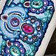 Женские сумки ручной работы. Ярмарка Мастеров - ручная работа. Купить Барбариска.. Handmade. Розово-голубой, голубой, жемчуг
