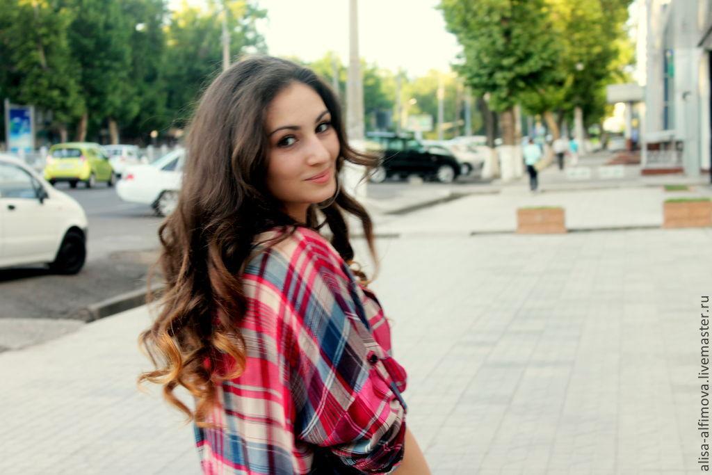 """Туника-рубашка с рукавом кимоно """"Эсти"""", Blouses, Tashkent,  Фото №1"""
