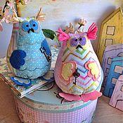 Куклы и игрушки ручной работы. Ярмарка Мастеров - ручная работа Совы нежные. Handmade.