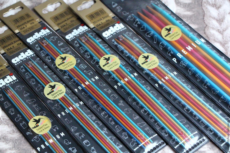 Solibri spokes 20 cm, 23 cm, Knitting Needles, Moscow,  Фото №1