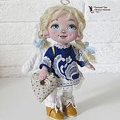 Stuffed Toys handmade. Livemaster - original item Textile doll angel varechka. Handmade.